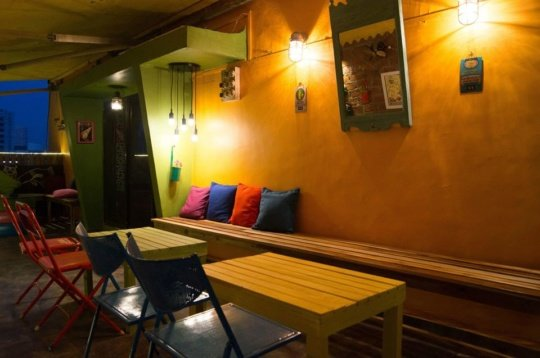 Coworking Terrace Lounge