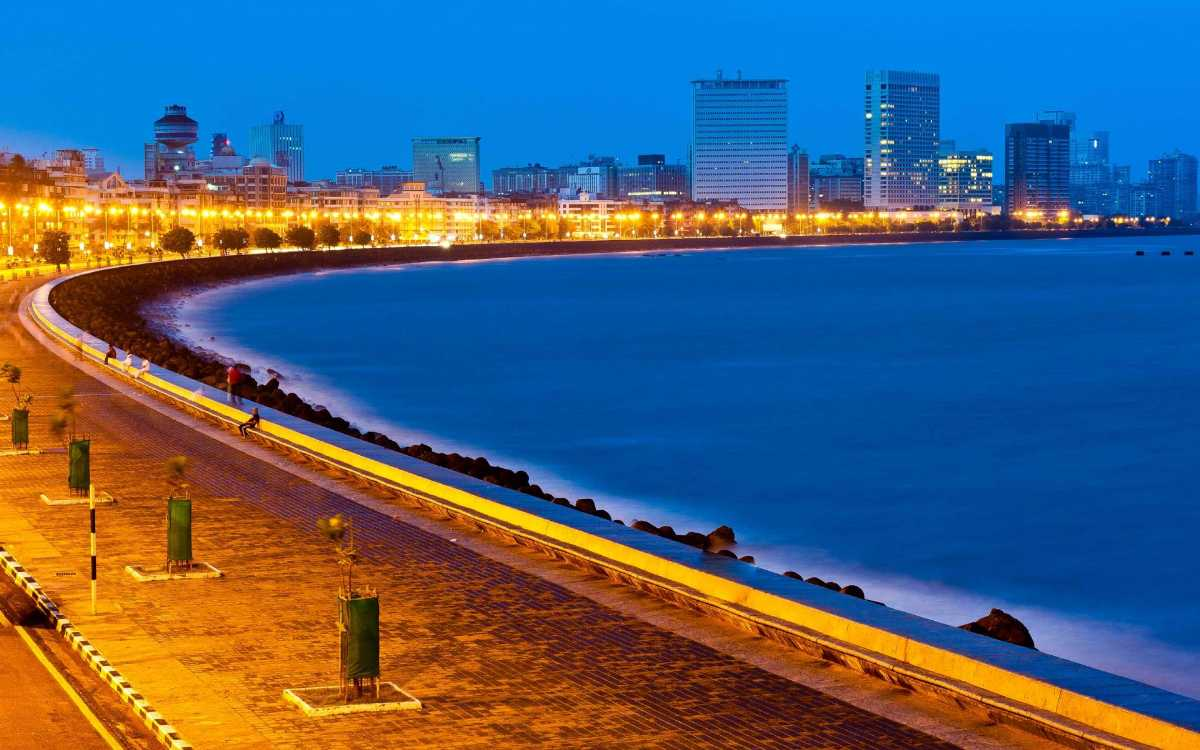 Marine Drive is one the places to visit in Mumbai