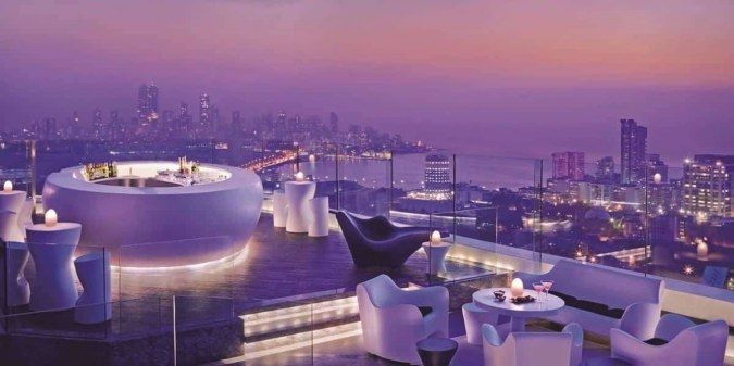 open air dinner celebration on this valentine's day in Mumbai