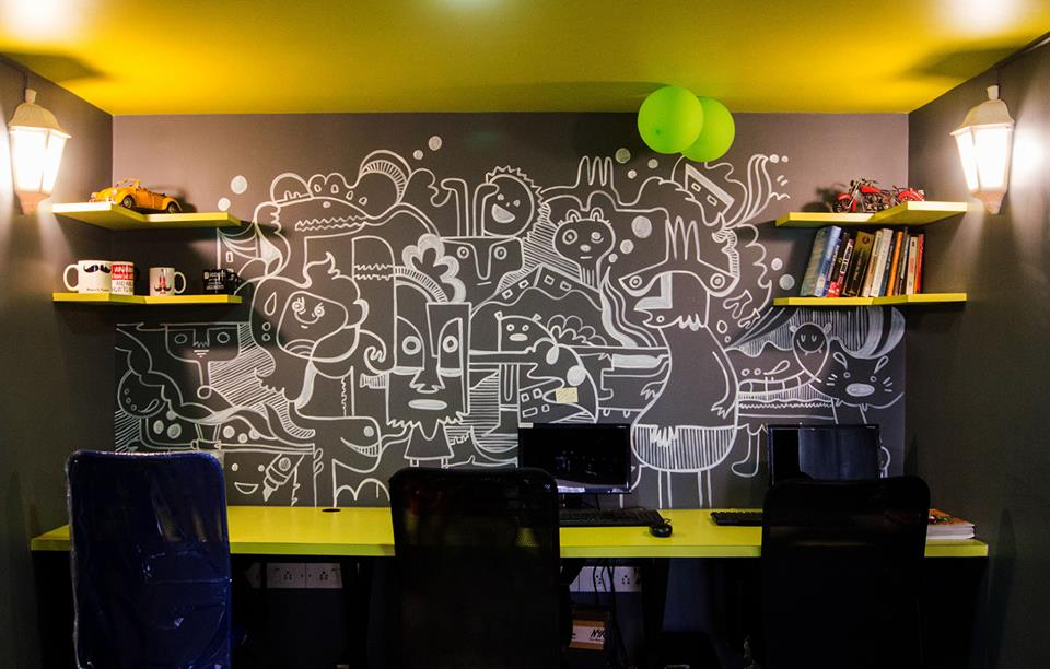 creative office ideas. They\u0027re Pieces Of Art That Depict Creativity And A Message. Graffiti On Office Walls Are Another Huge Trend In Design Ideas Creative T
