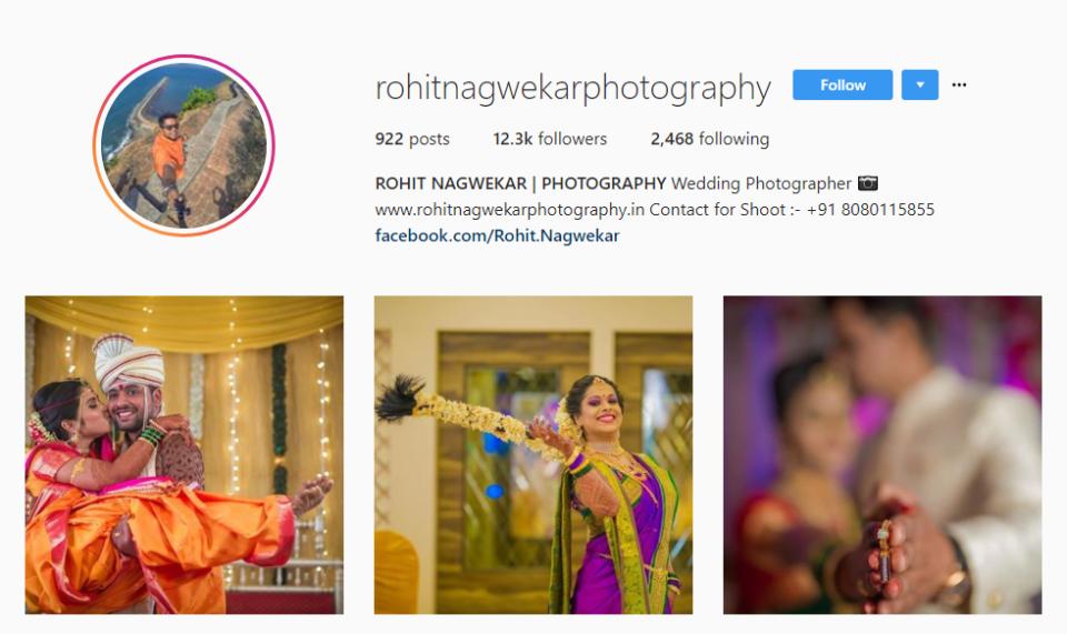wedding photographers in Mumbai - rohit nagwekar photography