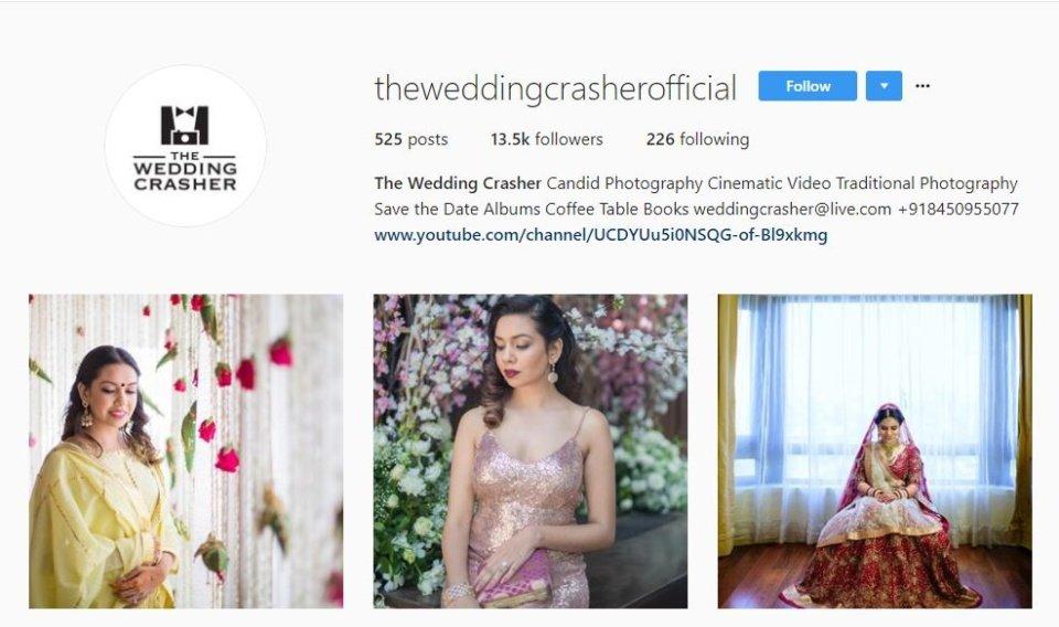 wedding photographers in Mumbai - the wedding crasher
