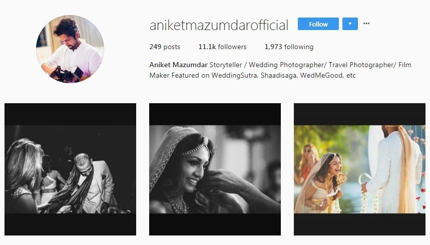 wedding photographers in Mumbai aniket mazumdar