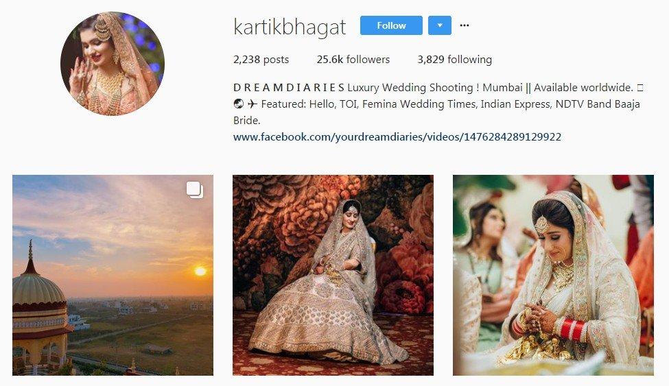 kartik bhagat - wedding photographers in Mumbai