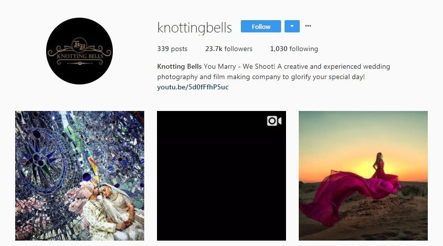 wedding photographers in Mumbai - Knotting bells