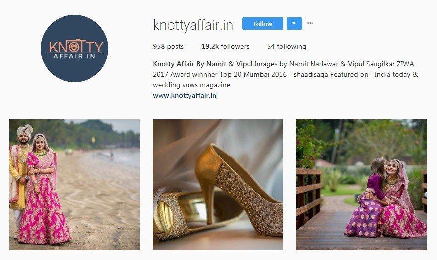 wedding photographers in Mumbai - knotty affair