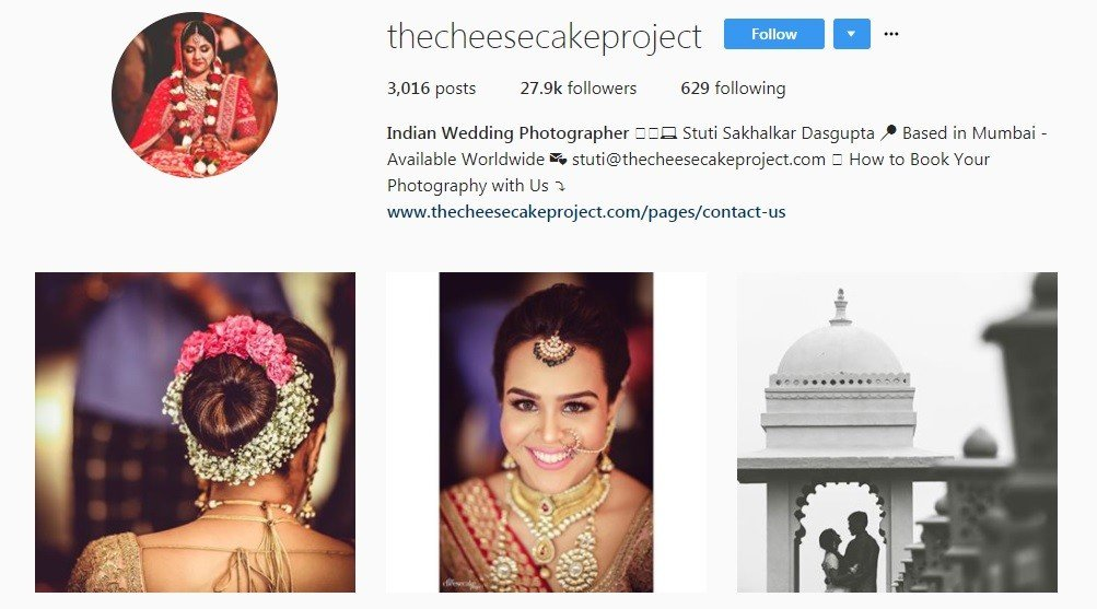wedding photographers in Mumbai - the cheese cake project