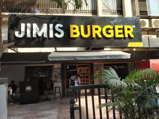 Jimis Burger best mumbai
