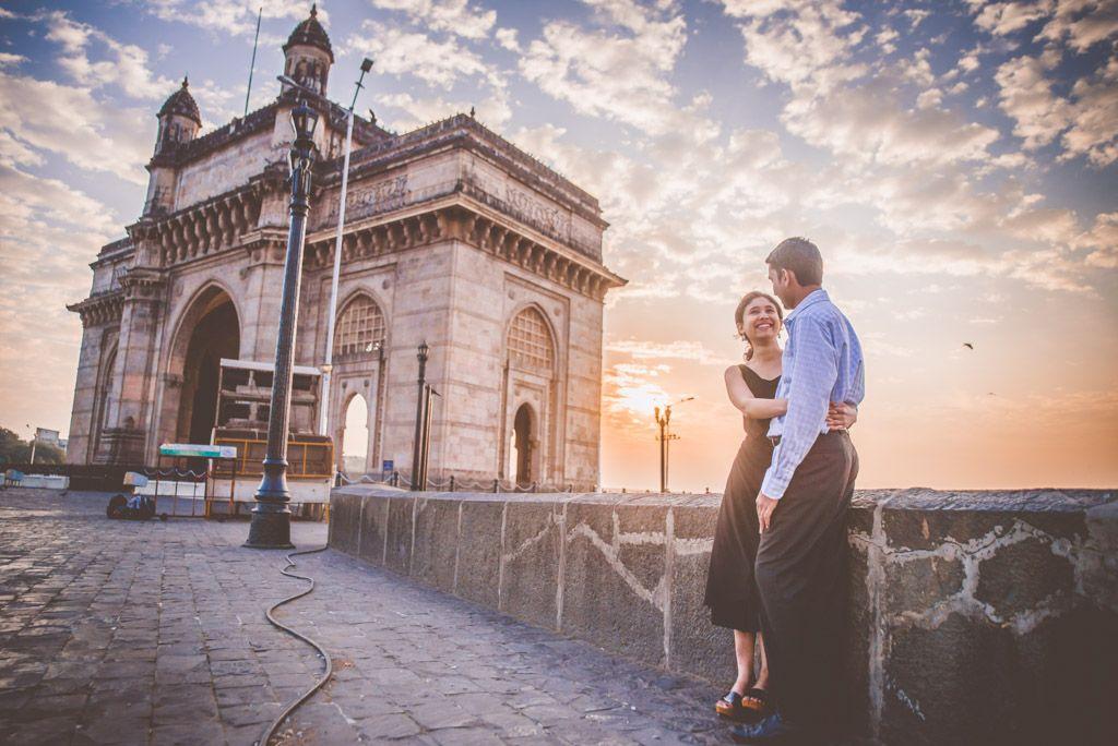 Pre-wedding shoot location in Mumbai
