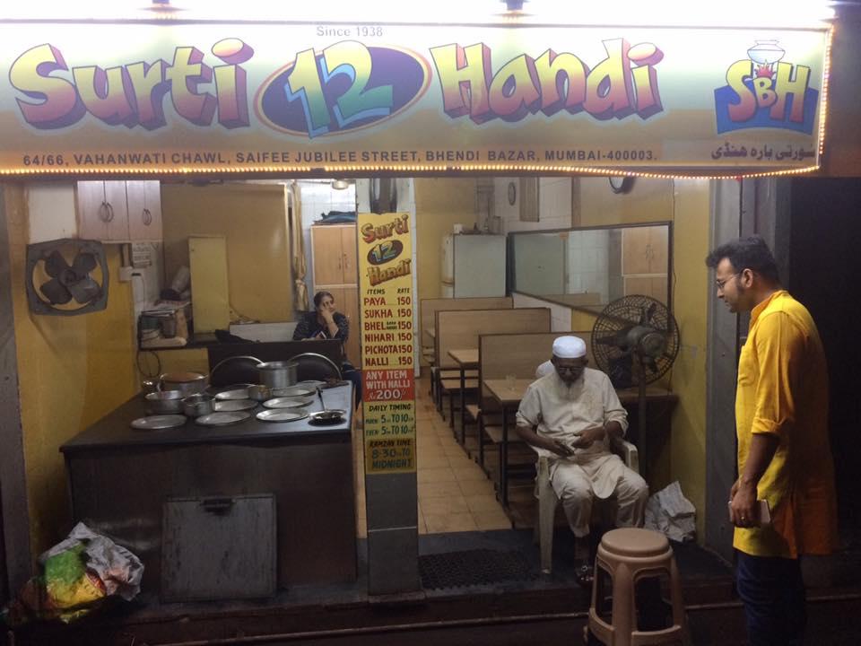 Food at Mohammed Ali Road - Surti 12 handi