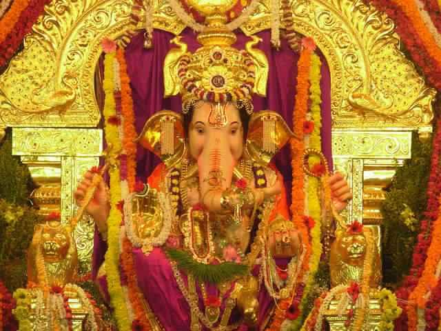 Ganesh Mandals in Mumbai : Wadalacha Raja