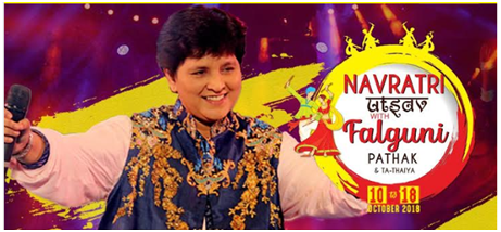 garba events in Mumbai- Falguni Pathak