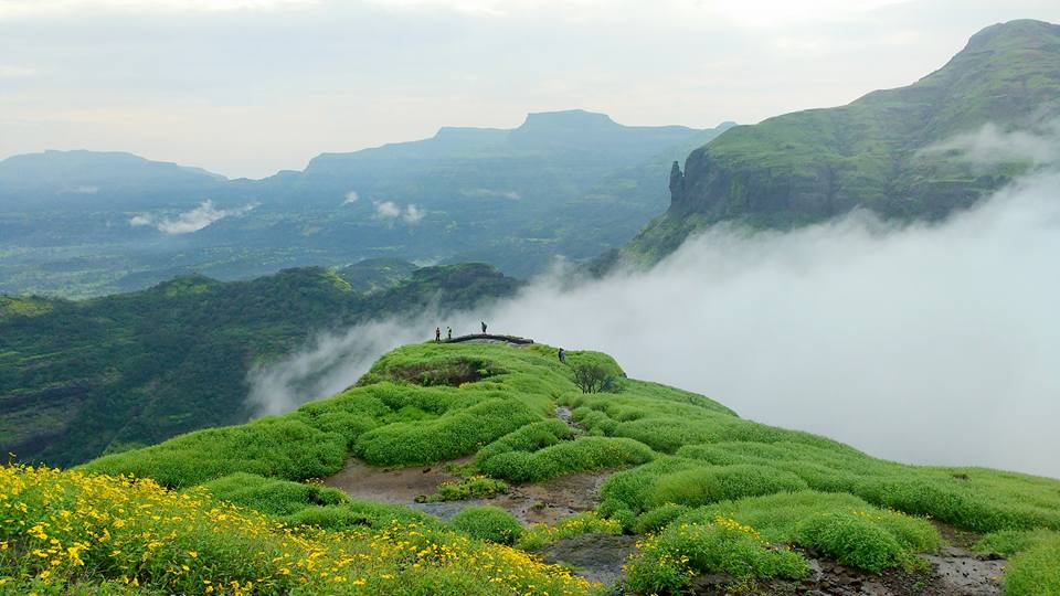 Trekking Places near Mumbai - Ratangad Fort Trail