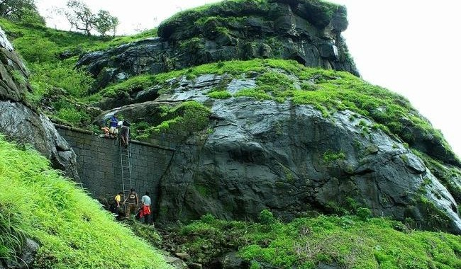 Trekking Places near Mumbai - Peb Fort Trail