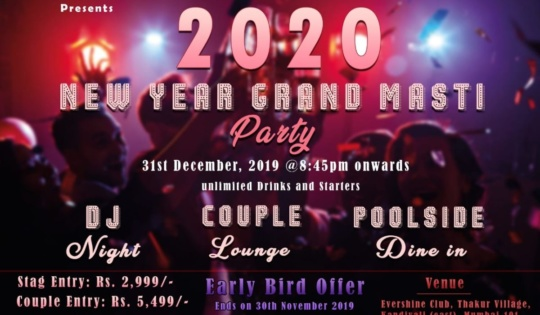 Evershine Club New Year Grand Masti