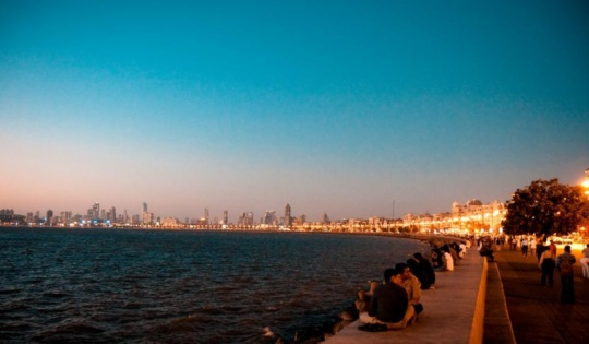 New Years at Marine Drive