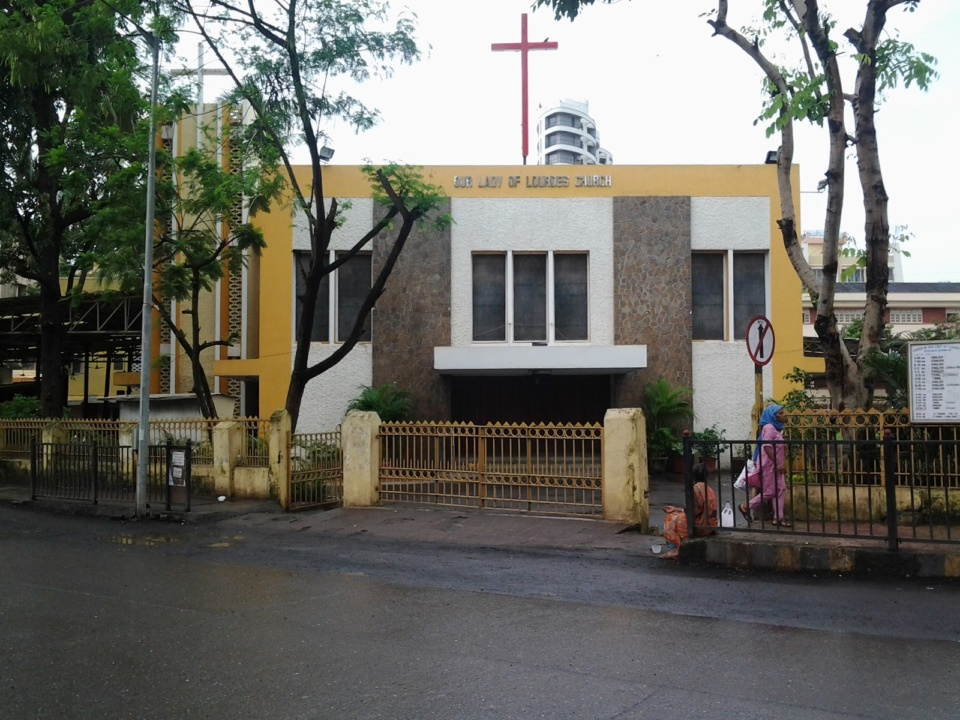 Christmas in Mumbai Our Lady of Lourdes, Malad