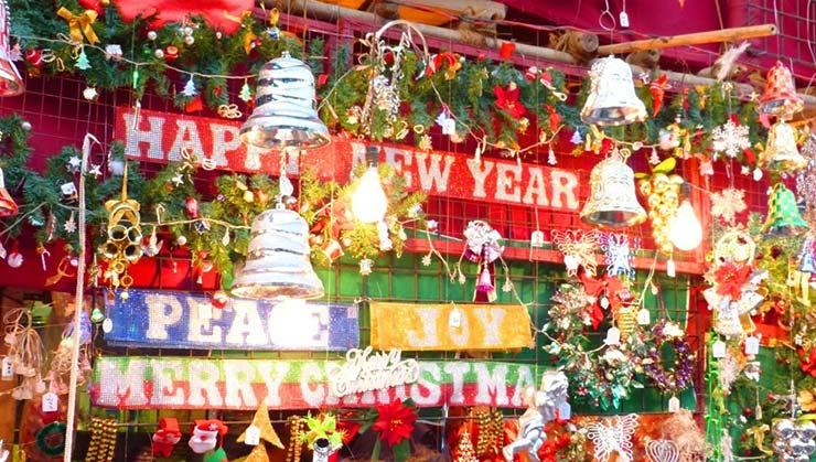 Christmas in Mumbai Santacruz