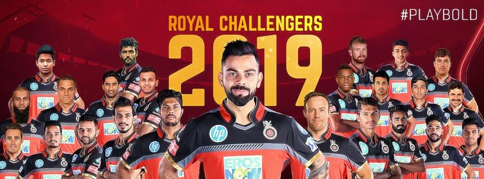 IPL 2019 - Royal Challengers Bangalore
