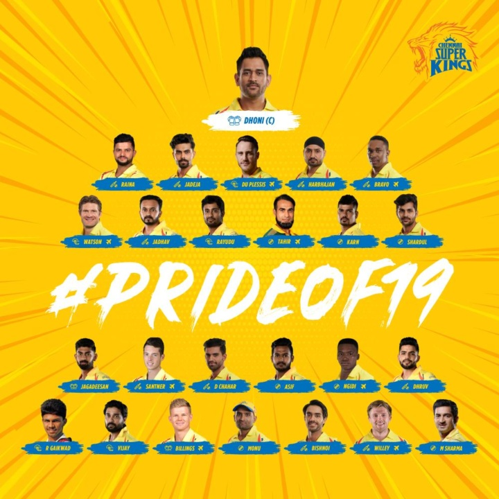 IPL 2019 - Chennai Super Kings