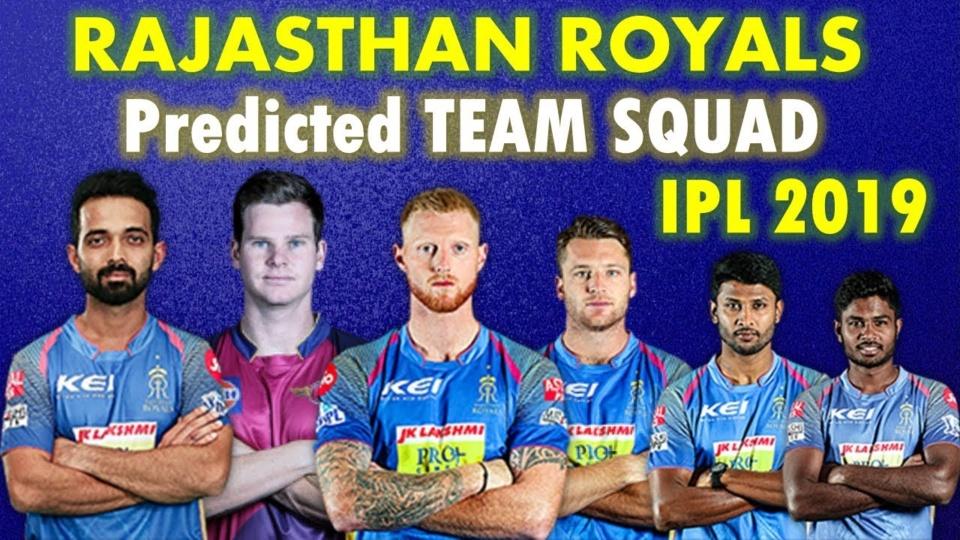IPL 2019 - Rajasthan Royals