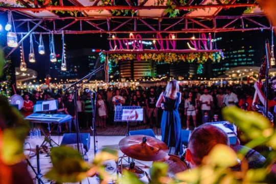 artist performing lil flea mumbai 2019