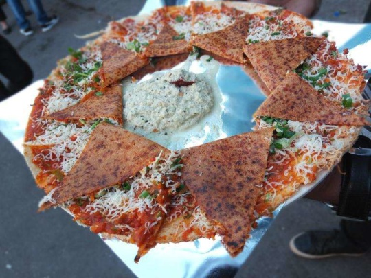 pizza dosa at Anand stall