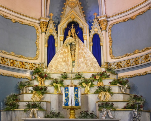 Mass at Mount Mary's Basilica