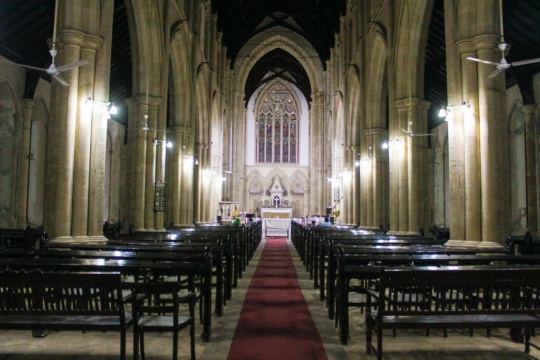 Mass At The Afghan Church, Colaba