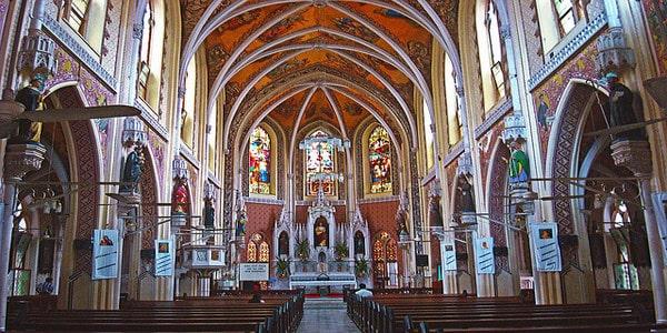 Mass at The Wodehouse Church